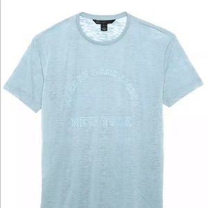 Marc by Marc Jacobs Mens Baby Blue T-Shirt